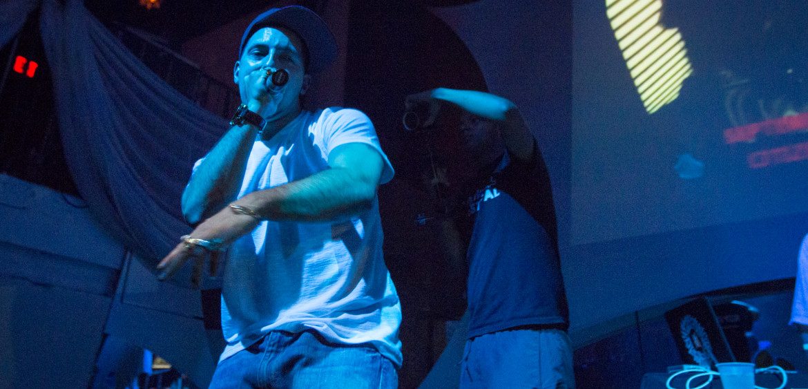 Statik Selektah & Termanology performing live at The Green Room in Ft. Lauderdale on June 7th, 2012.