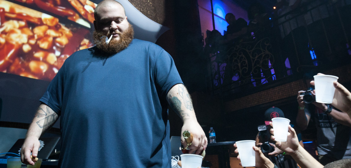 Action Bronson performing in Ft. Lauderdale at The Green Room on June 28th, 2012.