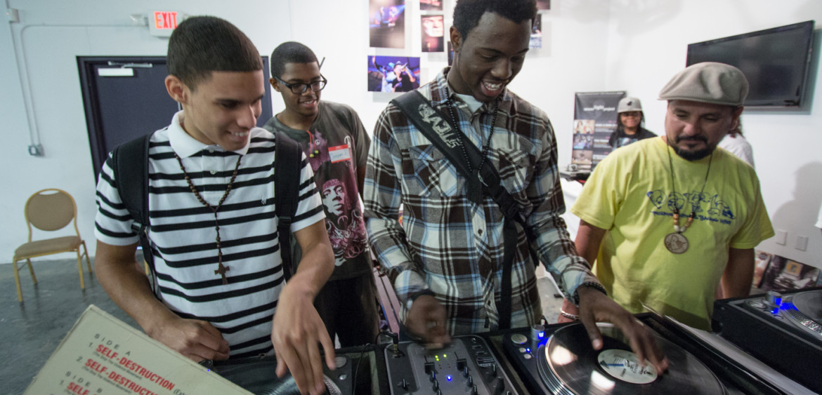 2012.07 | PATH to Hip Hop Summer Academy 2012 at the Miami Light Project.