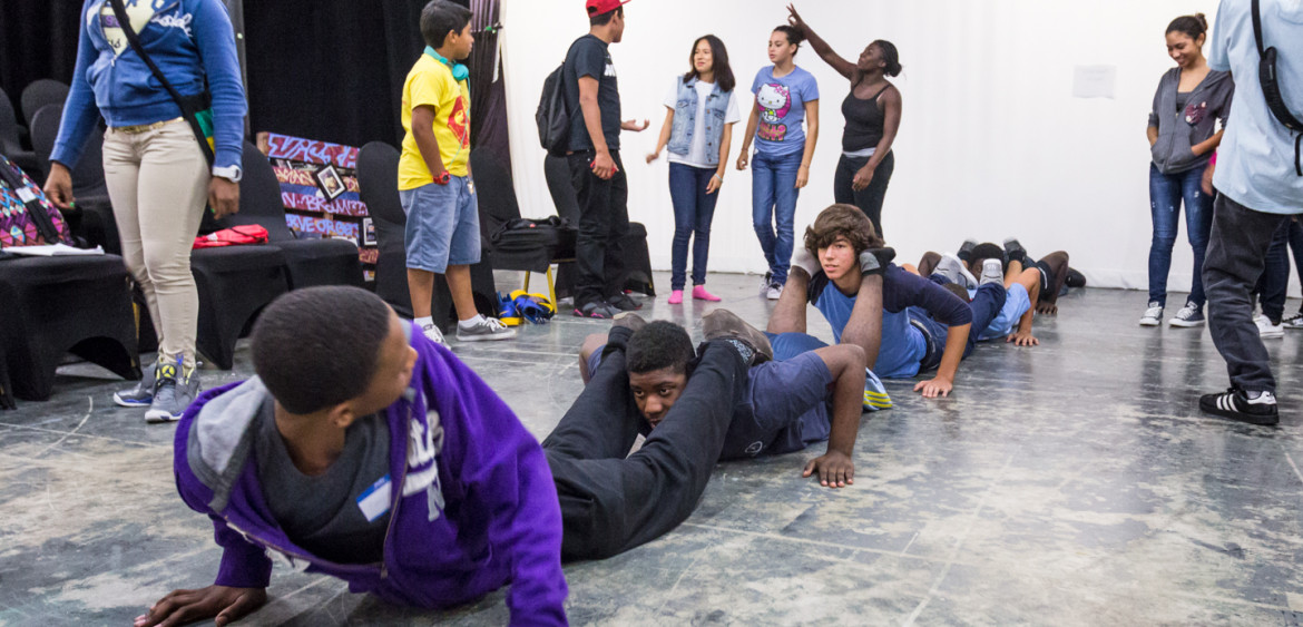 2013.07 | PATH to Hip Hop Summer Academy 2013 at the Miami Light Project.