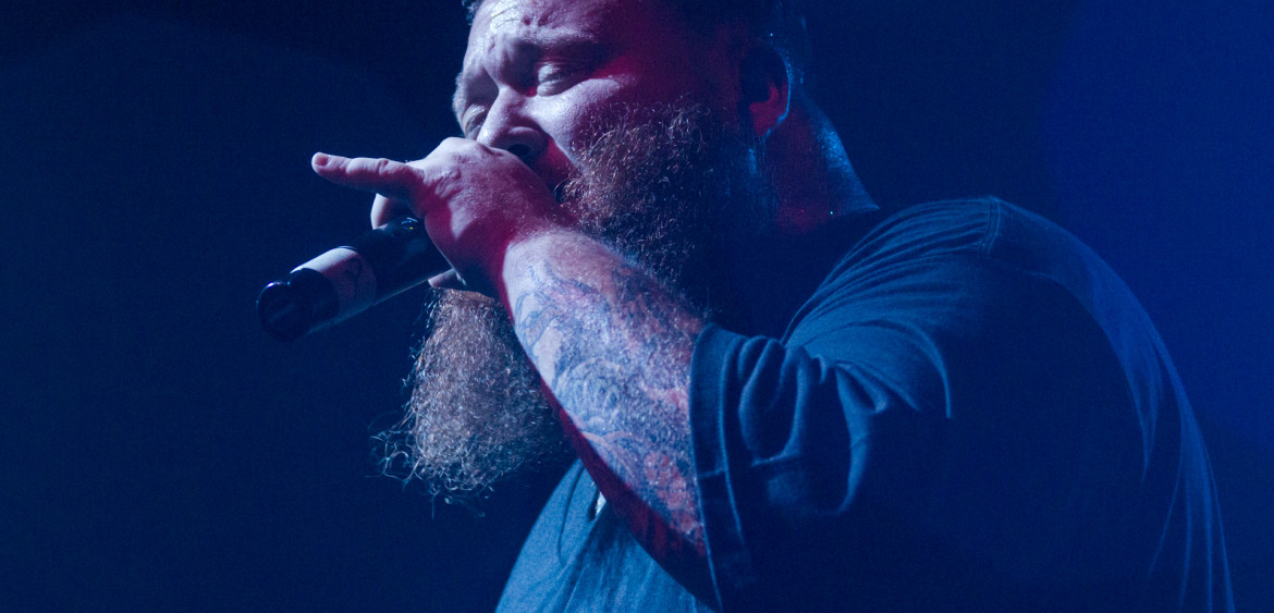 Action Bronson performing in Ft. Lauderdale at Revolution Live on August 17th, 2013.
