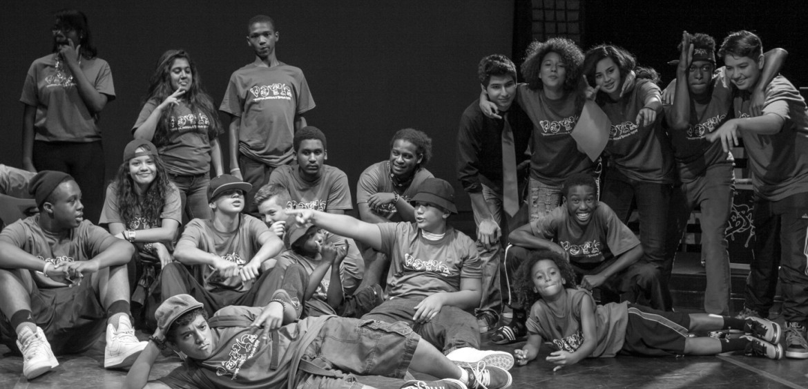 2014.08.01-2014 | PATH Hip Hop Academy Summer Session Closing Cypher at the Miami Light Project in Wynwood.