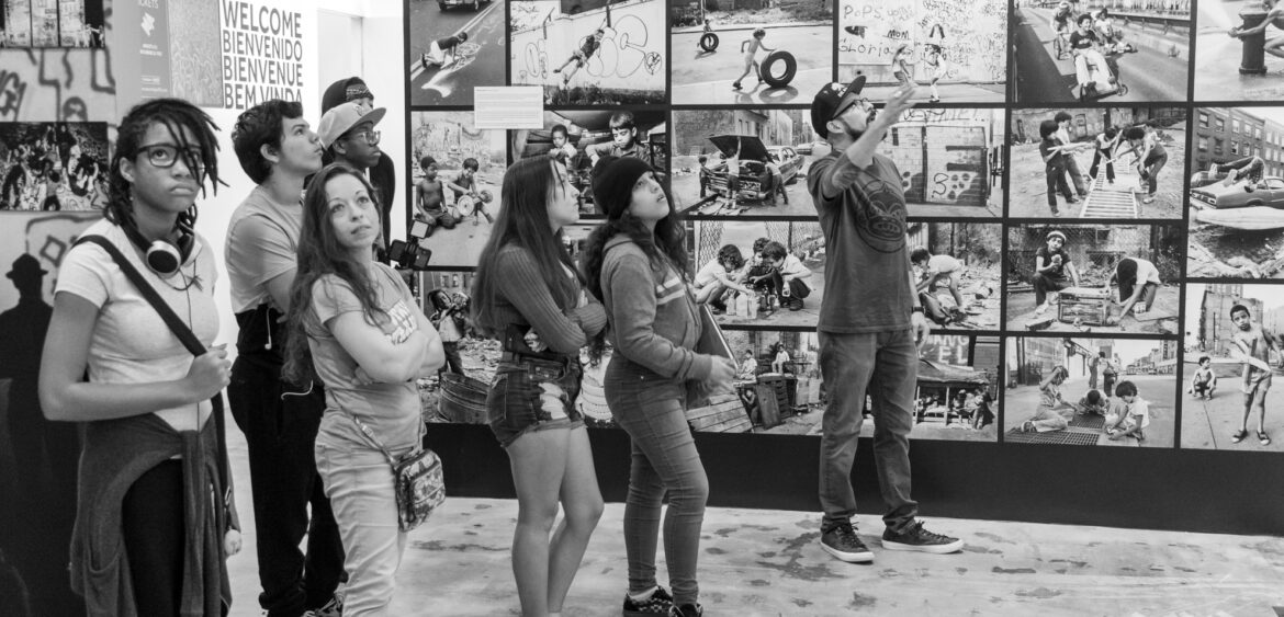 "During the PATH 2019/2020 Winter Intensive, some students got to experience Wynwood's Museum of Graffiti; the world's first museum dedicated to the evolution of graffiti art. Co-founder Alan Ket and curator Carlos ""MARE139"" Rodriguez welcomed the students with a personalized tour, where they were touched on the history, styles, and future of graffiti culture."